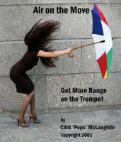 Cover for 'Air on the Move. Get More Range on the Trumpet'