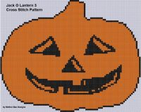 Cover for 'Jack O Lantern 3 Cross Stitch Pattern'