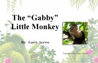 "Cover for 'The ""Gabby"" Little Monkey'"