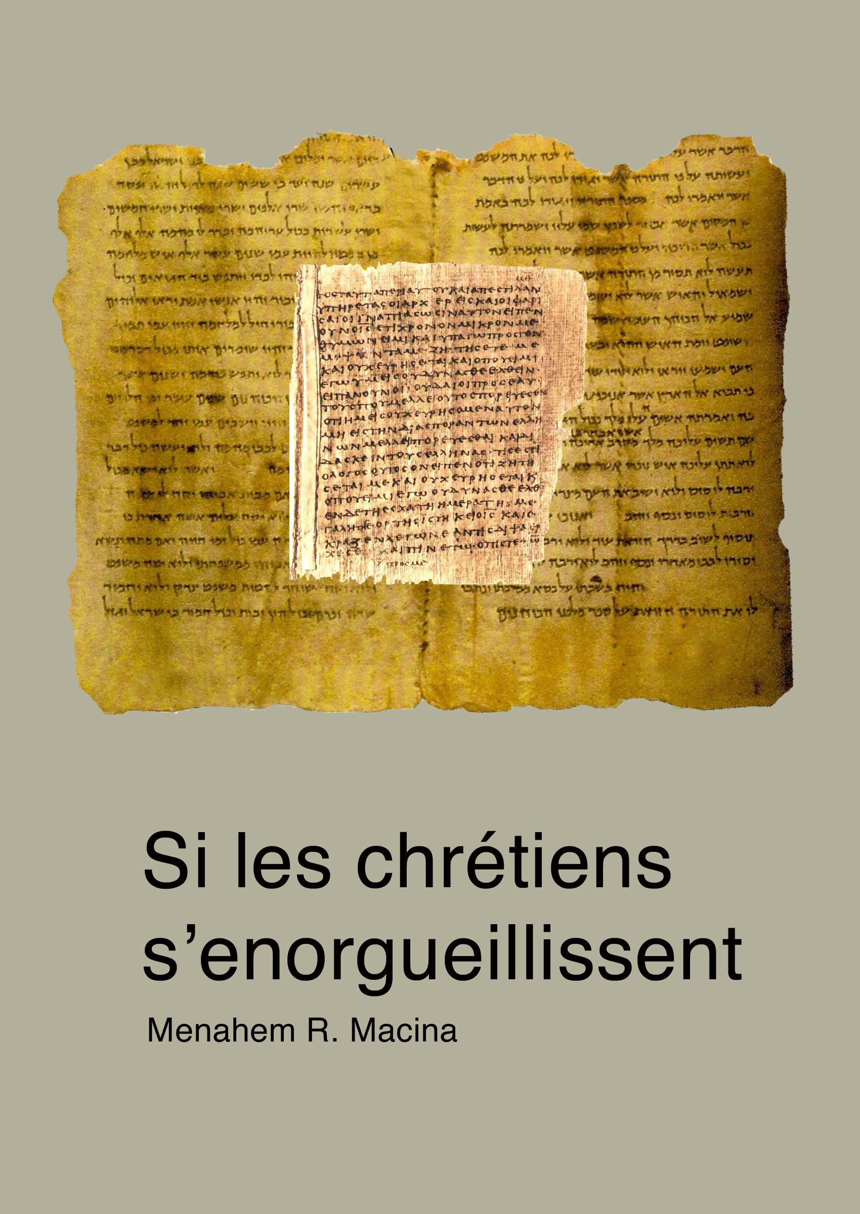 - Si les chrétiens s'enorgueillissent. À propos de la mise en garde de l'apôtre Paul (Rm 11, 20)