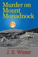 Cover for 'Murder on Mount Monadnock'