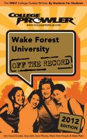 Cover for 'Wake Forest University 2012'