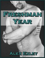 Cover for 'Freshman Year (gay erotica)'