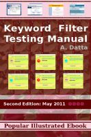Cover for 'Keyword Filter Testing Manual'