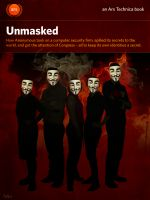 Cover for 'Unmasked'