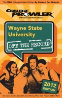 Cover for 'Wayne State University 2012'