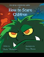 Cover for 'The Little Monster's Guide on How to Scare Children'