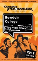 Cover for 'Bowdoin College 2012'