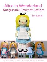 Cover for 'Alice in Wonderland Amigurumi Crochet Pattern'