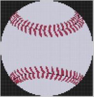 Cover for 'Baseball 2 Cross Stitch Pattern'