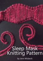 Cover for 'Sleep Mask Knitting Pattern'
