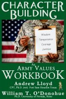 Cover for 'Character Building: An Army Values Workbook'