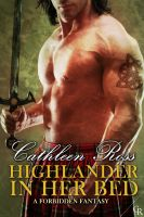 Cover for 'Highlander in her bed'