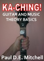 Cover for 'Ka-Ching Guitar and Music Theory Basics'