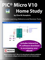 Cover for 'PIC® Micro V10 Home Study'