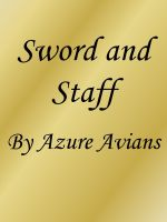 Cover for 'Sword and Staff'