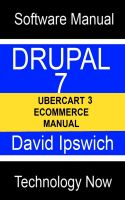 Cover for 'Drupal 7 Ubercart 3 Ecommerce Manual'