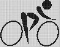 Cover for 'Bicycle Cross Stitch Pattern'