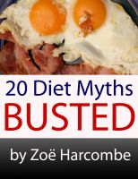 Cover for '20 Diet Myths - Busted. A Manifesto to change how you think about dieting.'