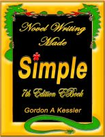 Cover for 'Novel Writing Made Simple'