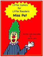 Cover for 'Little Comics for Little Readers: Miss Pat'