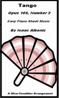 SilverTonalities Sheet Music Services - Tango Opus 165 Number 2 Easy Piano Sheet Music