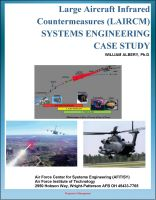 Cover for 'Large Aircraft Infrared Countermeasures (LAIRCM) Systems Engineering Case Study - Laser Transmitter Pointer/Tracker'