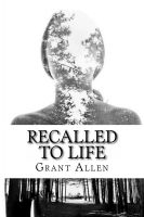 Cover for 'Recalled to Life'