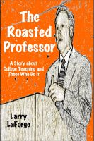 Cover for 'The Roasted Professor'