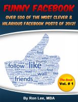 Cover for 'Funny Facebook Statuses The Book'