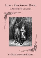 Cover for 'Little Red Riding Hood - A Musical for Children'