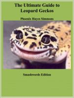 Cover for 'The Ultimate Guide to Leopard Geckos'