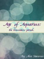 Cover for 'Age of Aquarius: the transition period.'