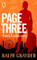 Cover for 'Page Three: A very London story'