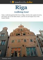 Cover for 'Riga Walking Tour'