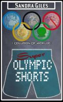 Cover for 'Super Olympic Shorts (Collision Of Worlds)'
