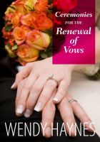 Cover for 'Ceremonies for the Renewal of Vows'