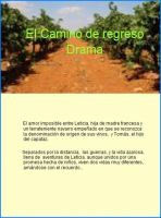 Cover for 'El camino de regreso'