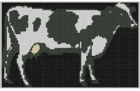 Cover for 'Cow Cross Stitch Pattern'