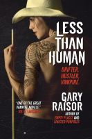 Cover for 'Less Than Human'