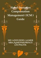 Cover for 'Siebel Incentive Compensation Management ( ICM ) Guide'