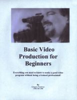 Cover for 'Basic Video Production for Beginners'