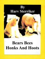 Cover for 'Bears Bees Honks and Hoots'