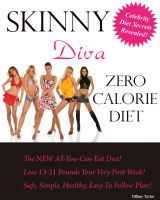 Cover for 'Skinny Diva Zero Calorie Diet'