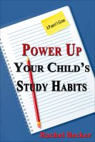 Cover for 'Power Up Your Child's Study Habits: A Parent's Guide'