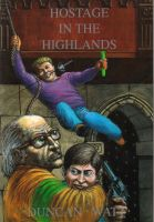 Cover for 'Hostage in the Highlands'