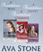 Cover for 'A Scandalous Bundle (Regency Romance)'