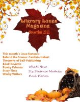 Cover for 'Literary Lunes Magazine: November 2011 Issue'