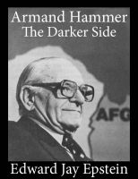 Cover for 'Armand Hammer, The Darker Side: An EJE Single'