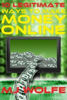 Cover for '10 LEGITIMATE Ways to Make Money Online'